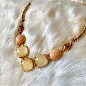 ⭐️ Golden Shimmer Chunky Necklace